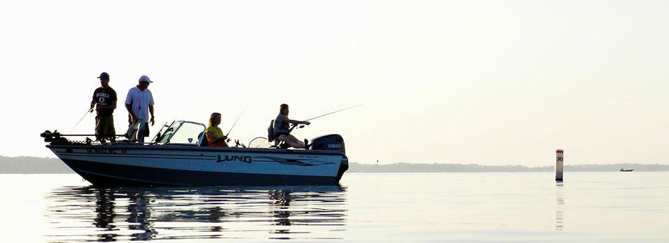 Iowa great lakes outdoors for Lake okoboji fishing