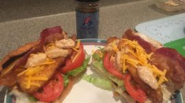 """The West Boji Lunker"" Walleye Sandwich by IGL Outdoors, Inc."