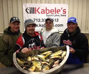 Okoboji Midwinter Ice Fishing Update