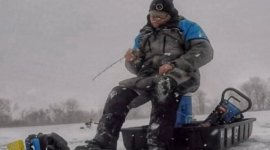 Okoboji Ice Fishing – Traveling Light for Early Ice Success